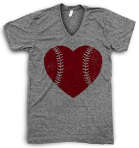 Baseball Love V Neck