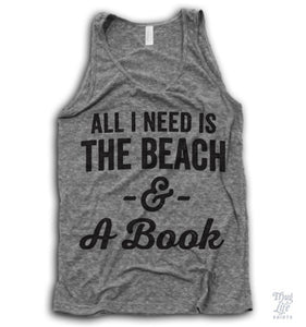 All I need is the beach and a book!