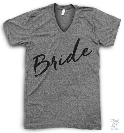 Bride V Neck Tshirt