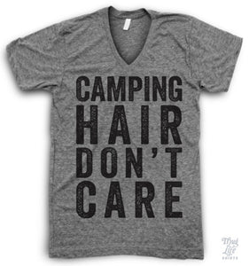 Camping Hair Don't Care!
