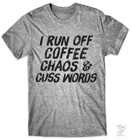 Coffee Chaos Cuss Words