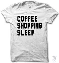 Coffee Shopping Sleep