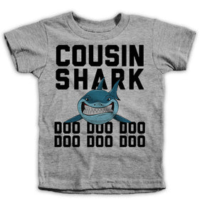 Cousin Shark Kids Tees