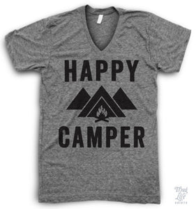 Happy Camper V Neck