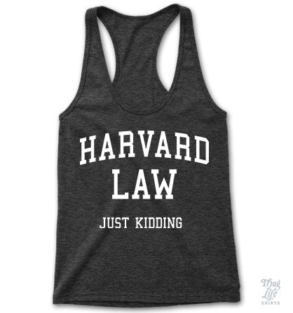 Harvard Law Racerback