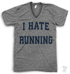 I Hate Running V Neck