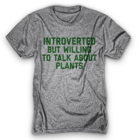 Introverted Plants