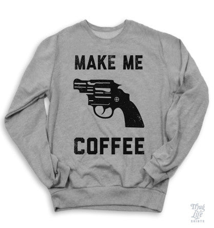 Make Me Coffee Sweater
