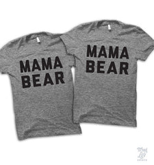 Mama And Mama Bear Couples Shirt