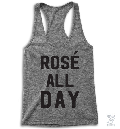 Rose All Day Racerback