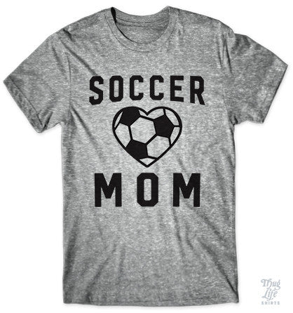 Heart Soccer Mom
