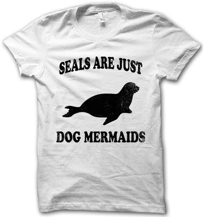 Seals Are Just Dog Mermaids