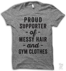 Supporter Of Gym Clothes