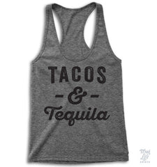 Tacos And Tequila Racerback