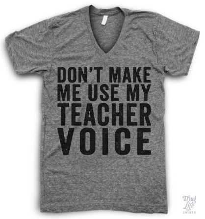 Teacher Voice V Neck