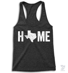 Texas Home Racerback