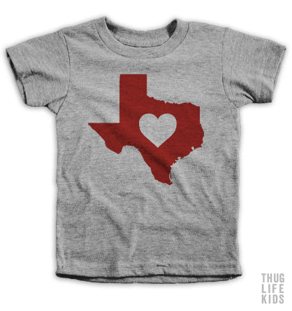 Texas Love Kids Tees