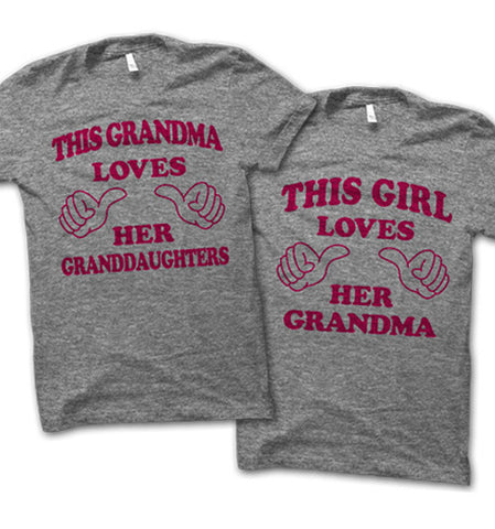 This Grandma Loves Shirts