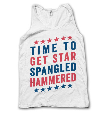Time To Star Spangled Hammered Tank
