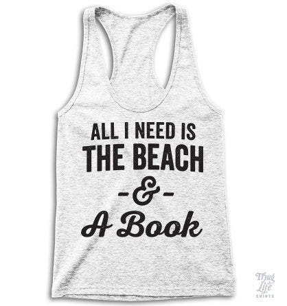 All I need is a beach and a book!