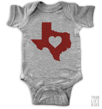Texas Love Onesie