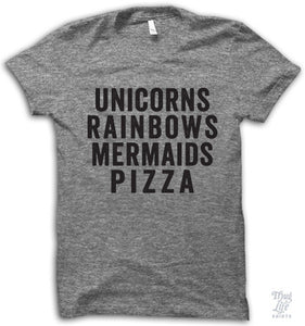 Unicorns Rainbows