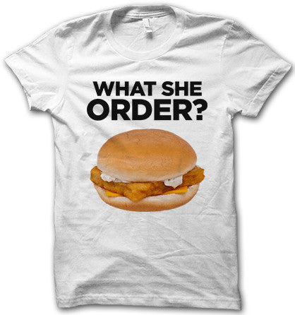 What She Order?