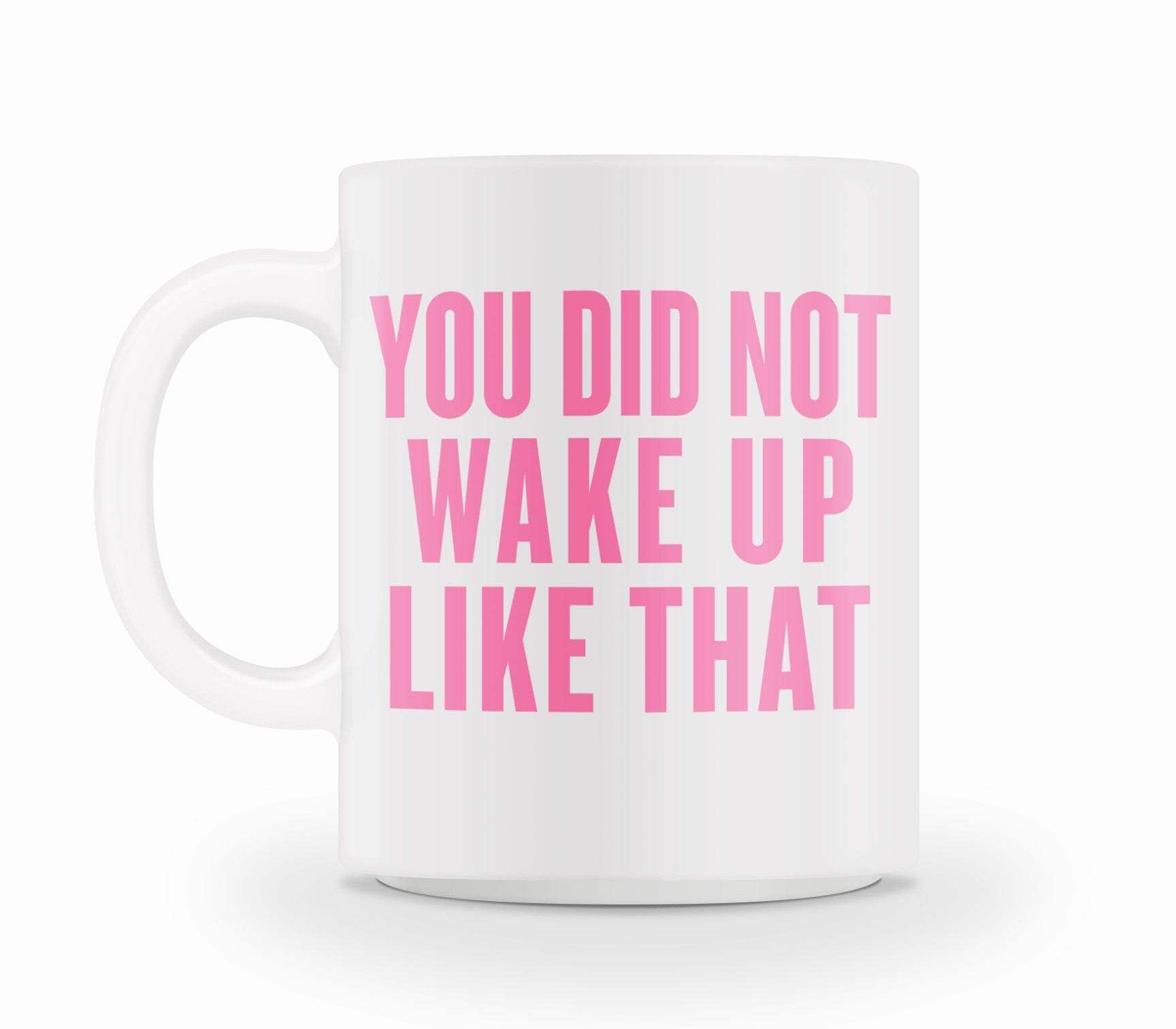 You Did Not Wake Up Like That Mug