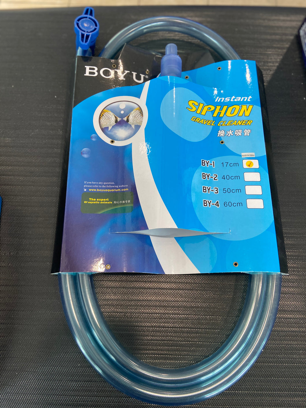 Boyu Instant Siphon Gravel Cleaner BY-1