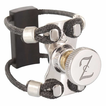 ZAC Ligature ZL5204 Top Rhodium Wood Lig Bb Clarinet