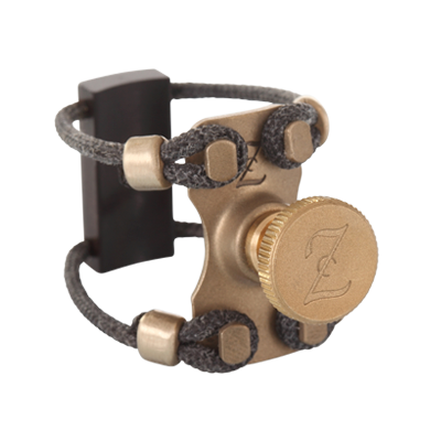 ZAC Ligature ZL1222 Brass Wood Lig Tenor