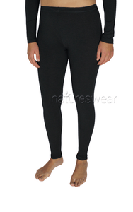 Tani leggings in Graphite, made from beechwood, breathable fabric