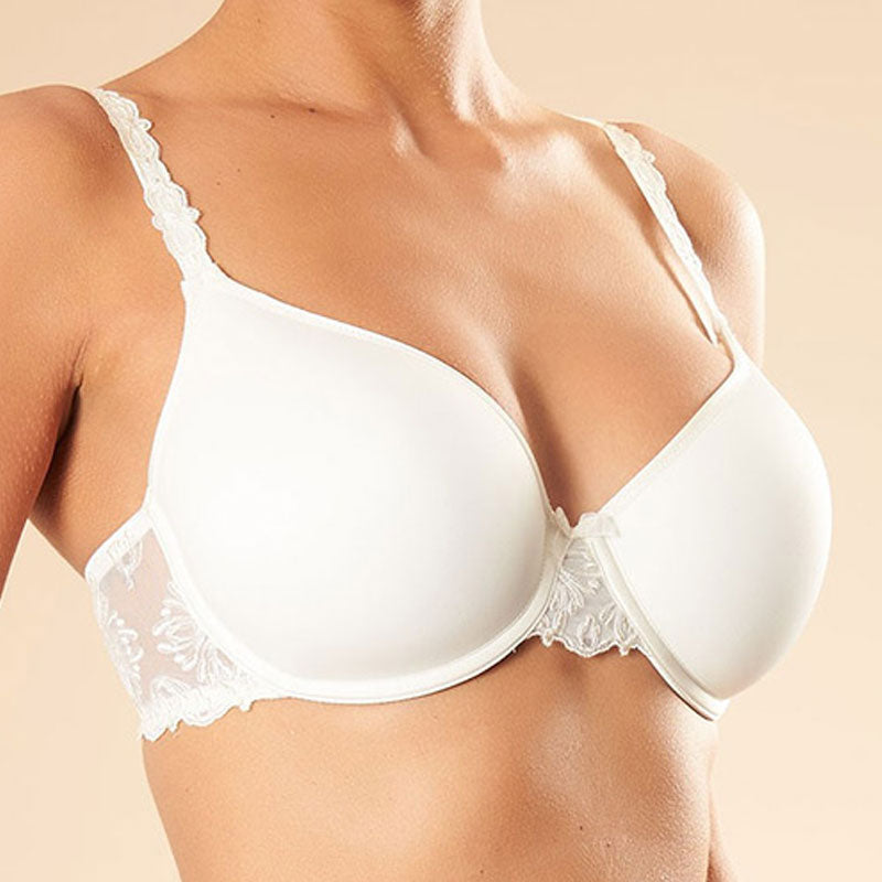 Chantelle Champs Elysee Smooth T Shirt Bra Ivory