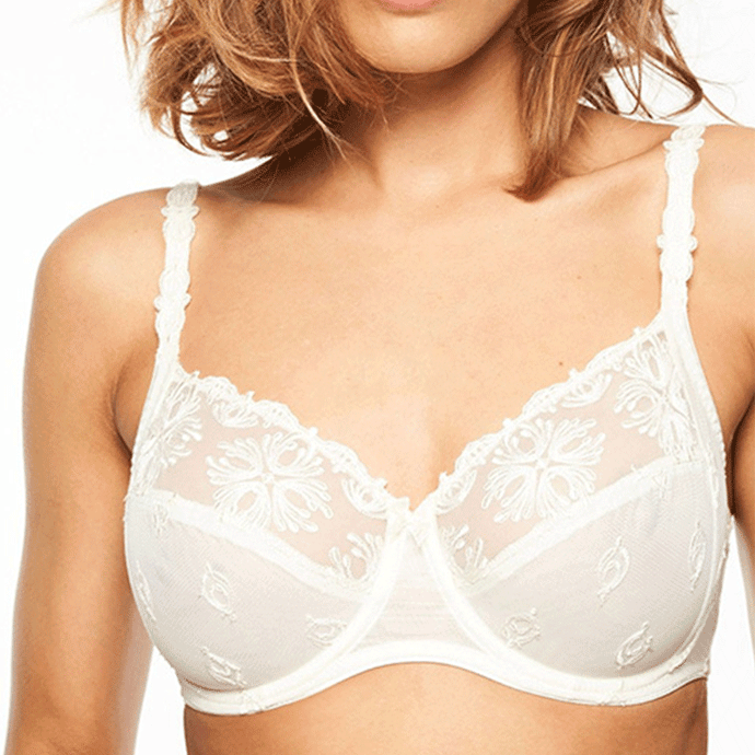 Chantelle Ivory Champs Elysee Full Coverage Bra ivory