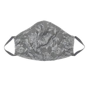 Cosabella Never Say Never V Facemask - Platinum Grey