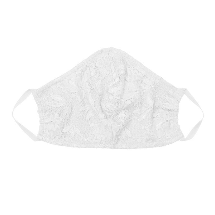 Cosabella Never Say Never V Facemask - White