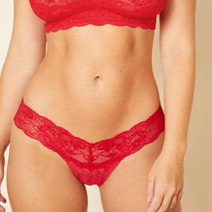 Cosabella Never Say Never Thong Red