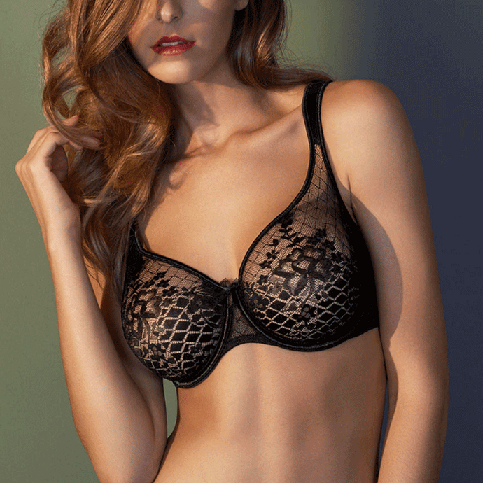 Empriente Melody Bra In Black