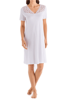 Load image into Gallery viewer, Hanro Moments Short Sleeve Nightgown