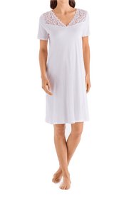 Hanro Moments Short Sleeve Nightgown