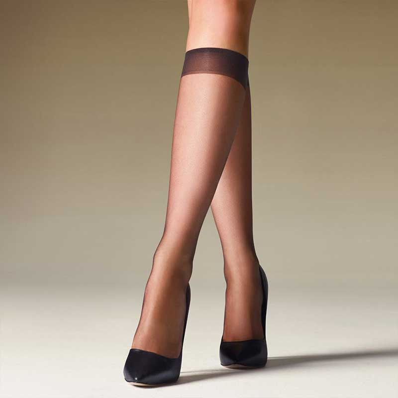 Levante Ultra Sheer Knee Highs 2pr Pack