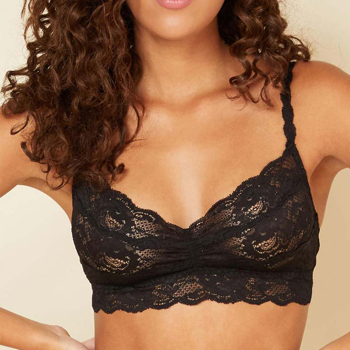 Cosabella Never Say Never Sweetie Bralette Black