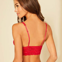 Load image into Gallery viewer, Cosabella Never Say Never Sweetie Bralette Mystic red