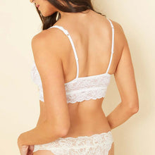 Load image into Gallery viewer, Cosabella Never Say Never Sweetie Bralette White