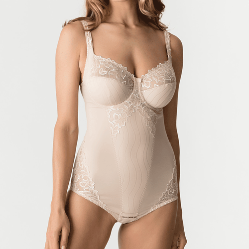 0461810, Deauville bodysuit in cafe, Prima Donna
