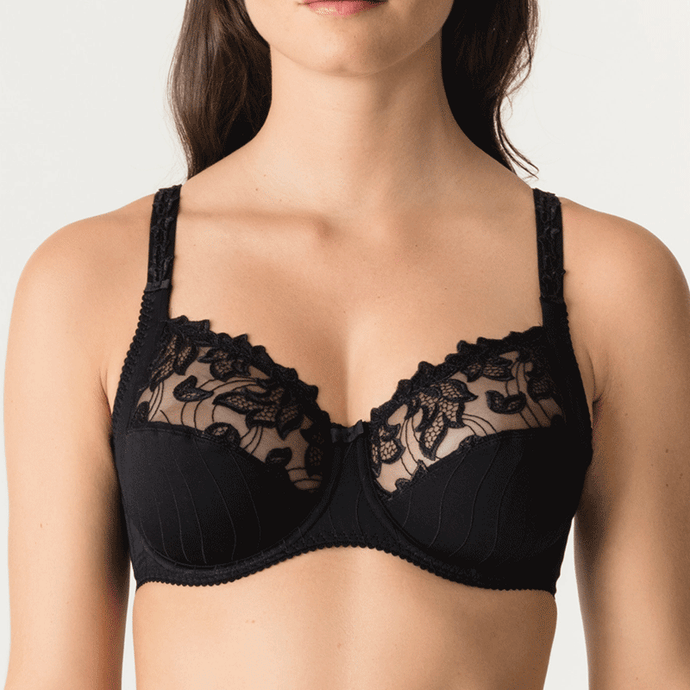Prima Donna Deauville Underwire Bra, Fuller cup sizes, 0161810, 0161811, Deaville bra in black