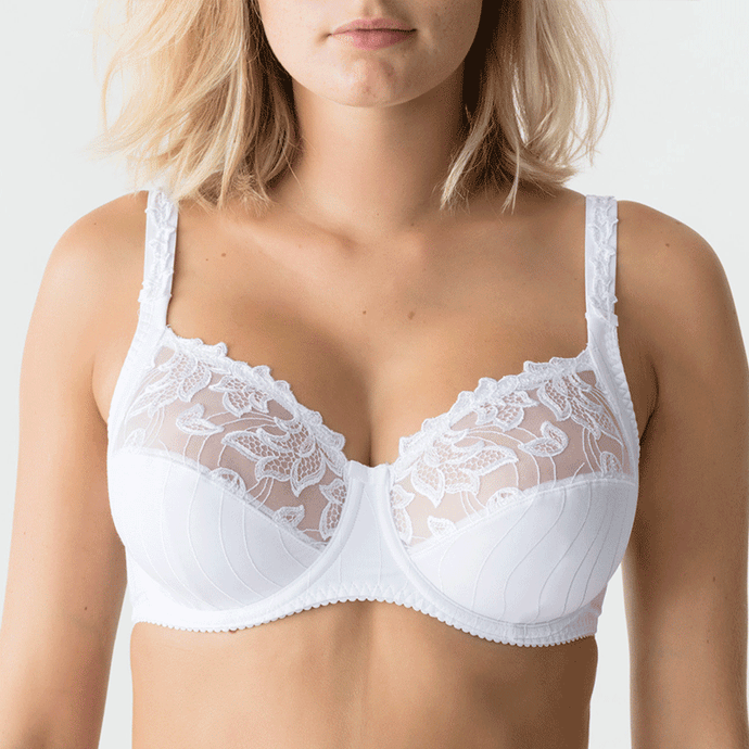Prima Donna Deauville Underwire Bra, Fuller cup sizes, 0161810, 0161811, Deaville bra in white