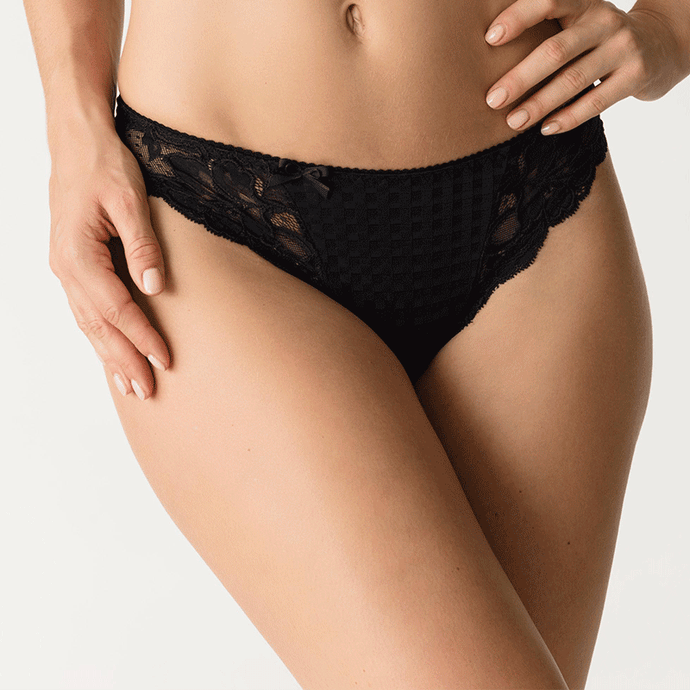 Prima Donna Madison Thong Black