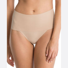 Load image into Gallery viewer, Spanx Undie-Tectible Thong nude