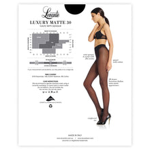 Load image into Gallery viewer, levante luxury matte 30 denier pantyhose